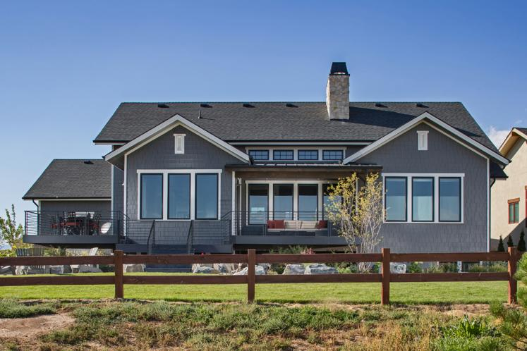 Ranch House Plan - Rivers Bend 23749 - Rear Exterior
