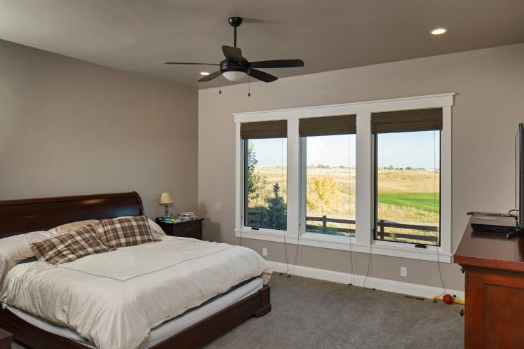 Ranch House Plan - Rivers Bend 23749 - Master Bedroom