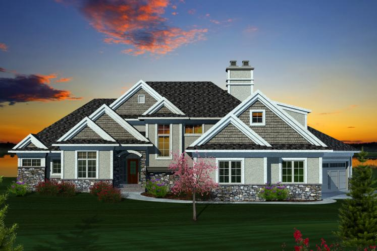 Contemporary House Plan -  23861 - Front Exterior