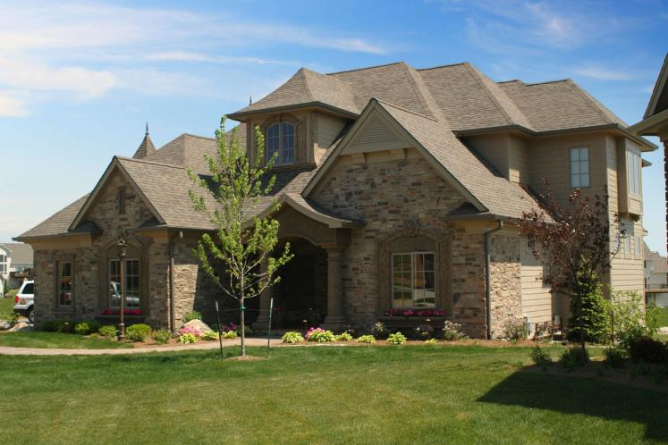 Tuscan House Plan -  23929 - Right Exterior