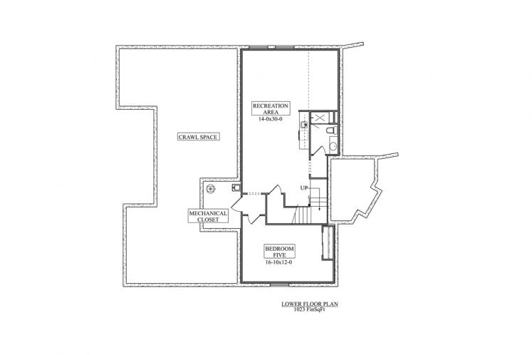 Country House Plan - Atwood 24293 - Basement Floor Plan