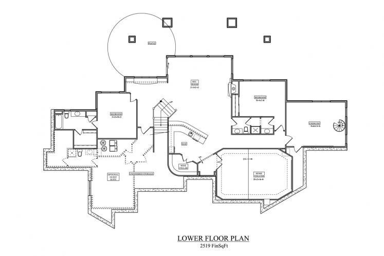 European House Plan - Westcot Manor 24320 - 2nd Floor Plan