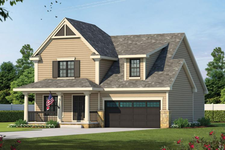 Country House Plan - Rivermonth 24527 - Front Exterior
