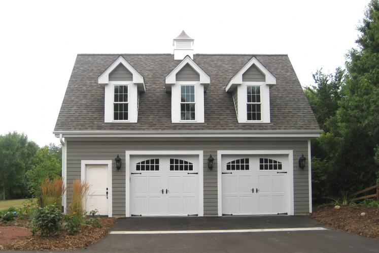 Country Garage Plan -  25518 - Front Exterior