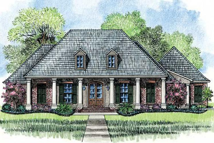 Classic House Plan - Magnolia 26155 - Front Exterior