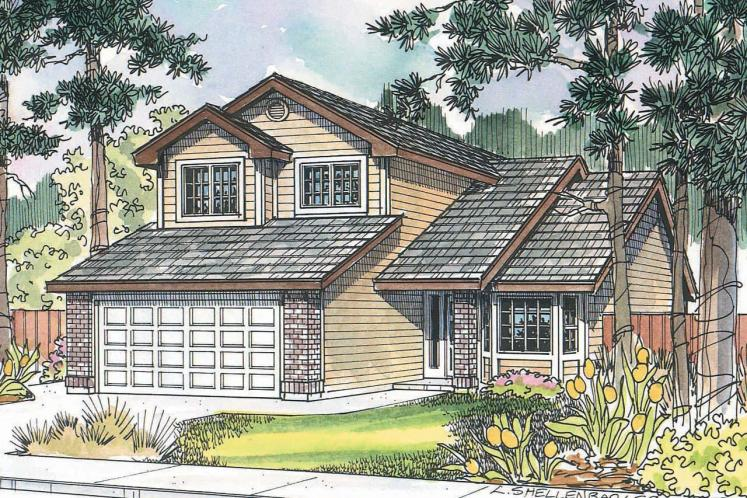 Traditional House Plan - Knollwood 26253 - Front Exterior