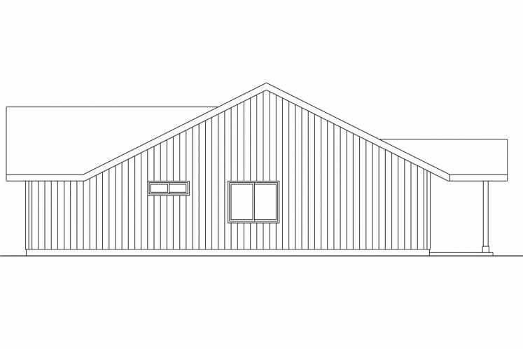 Country House Plan - Prichard 26294 - Right Exterior