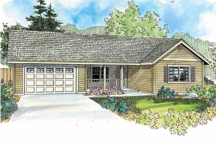 Country House Plan - Prichard 26294 - Front Exterior