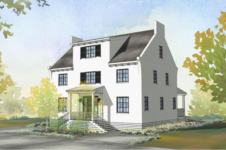 Southern House Plan - Caliza 26527 - Front Exterior
