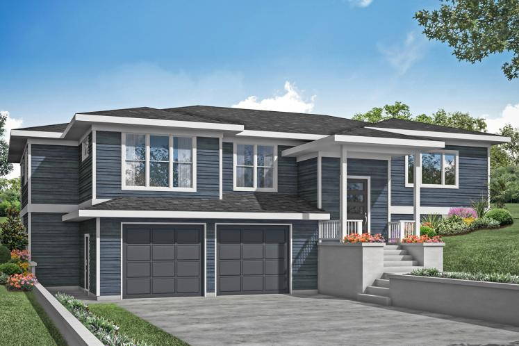 Modern House Plan - Staghorn 26537 - Front Exterior