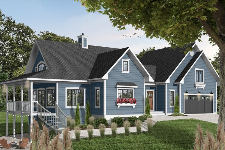 Country House Plan - The Thatchery 26893 - Front Exterior