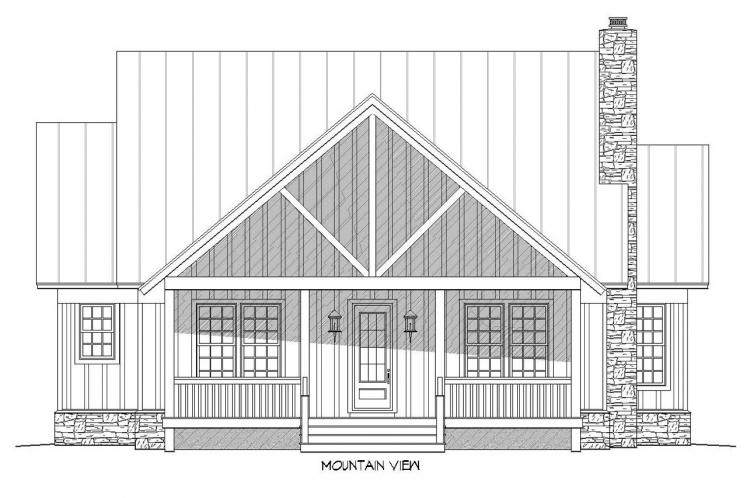 Bungalow House Plan -  27083 - Front Exterior