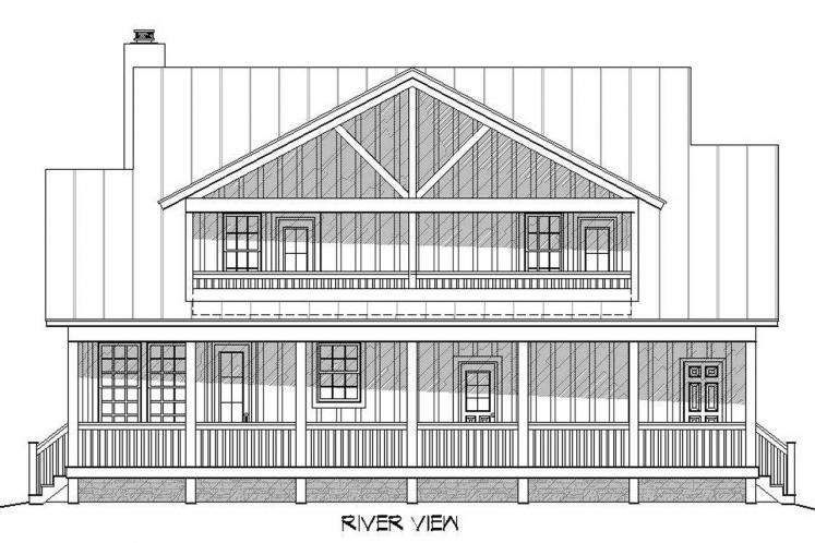 Cottage House Plan -  27083