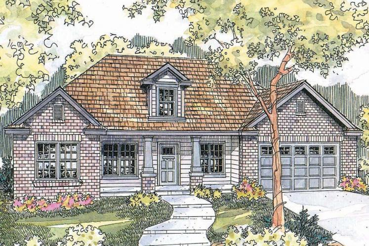 Traditional House Plan - Hennebery 27362 - Front Exterior