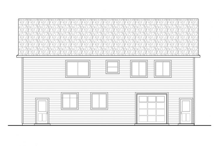 Traditional Garage Plan -  27896 - Right Exterior