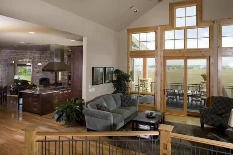 Lodge Style House Plan - Creekside 28380 - Great Room