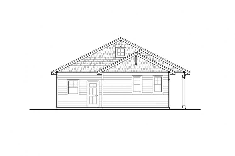 Cottage House Plan - Klickitat 28407 - Front Exterior