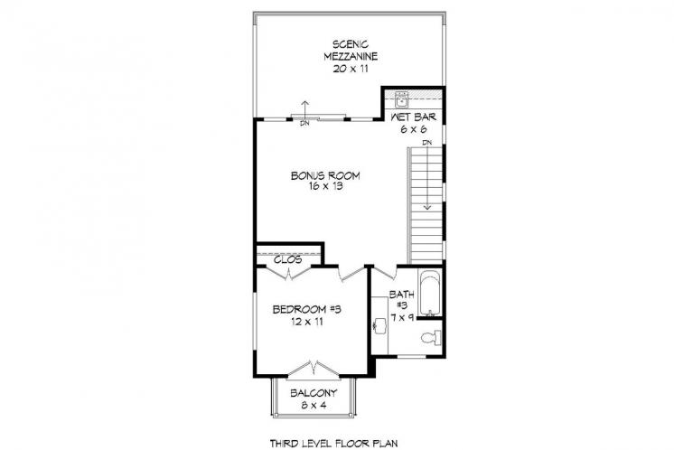 Contemporary House Plan - Shephard 28417 - Other Floor Plan