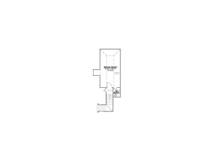 Southern House Plan - Jefferson 28766 - 2nd Floor Plan