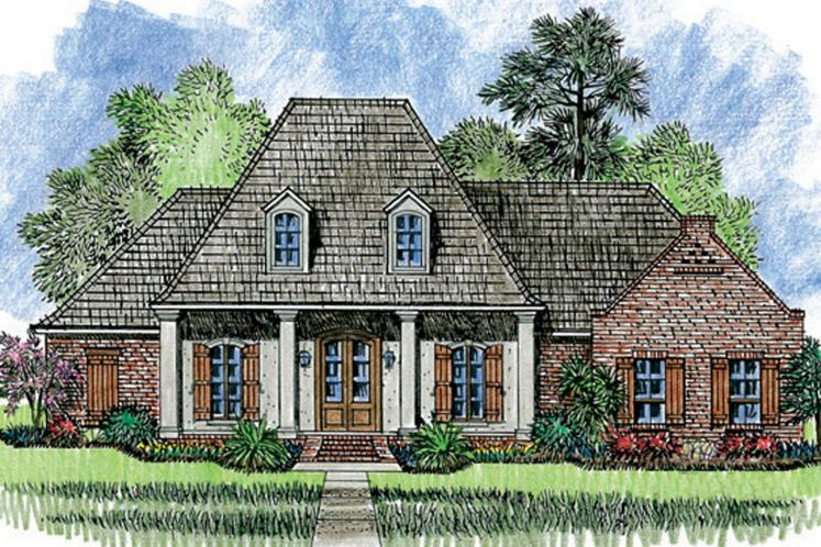 European House Plan - Jefferson 28766 - Front Exterior