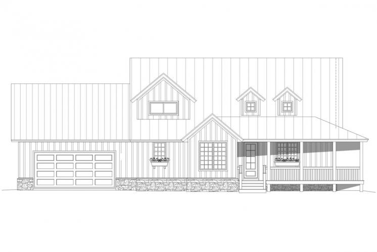 Country House Plan - Horton Falls 29012 - Front Exterior