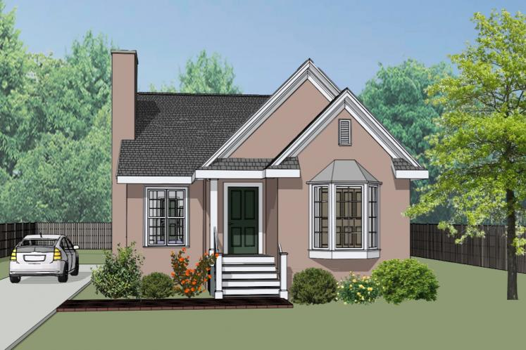 Cottage House Plan -  29583 - Front Exterior
