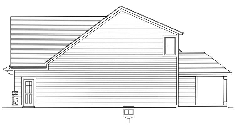Cottage House Plan - Saybrook 29610 - Right Exterior