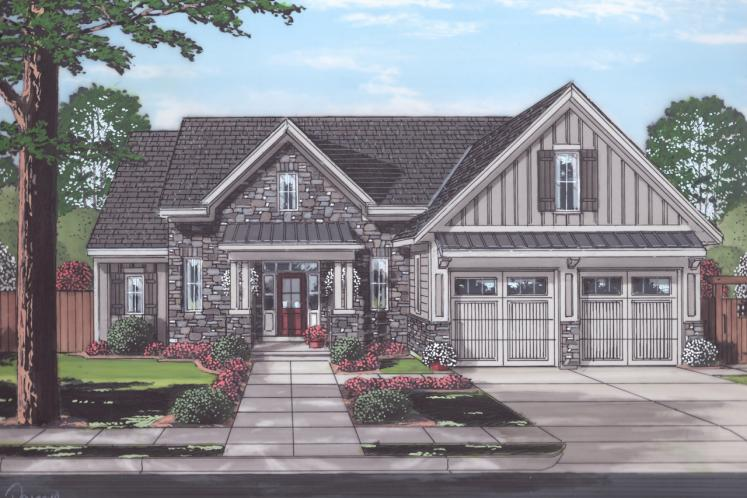 Cottage House Plan - Saybrook 29610 - Front Exterior