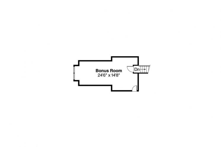 Traditional House Plan - Ainsley 29878 - 2nd Floor Plan