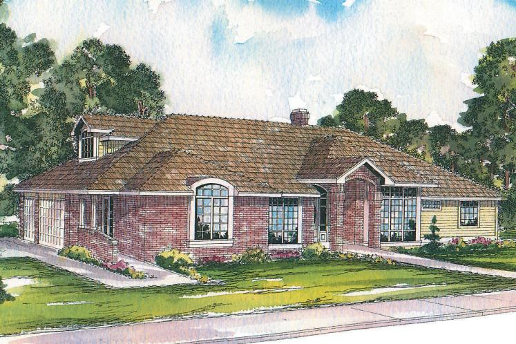 Contemporary House Plan - Ainsley 29878 - Front Exterior