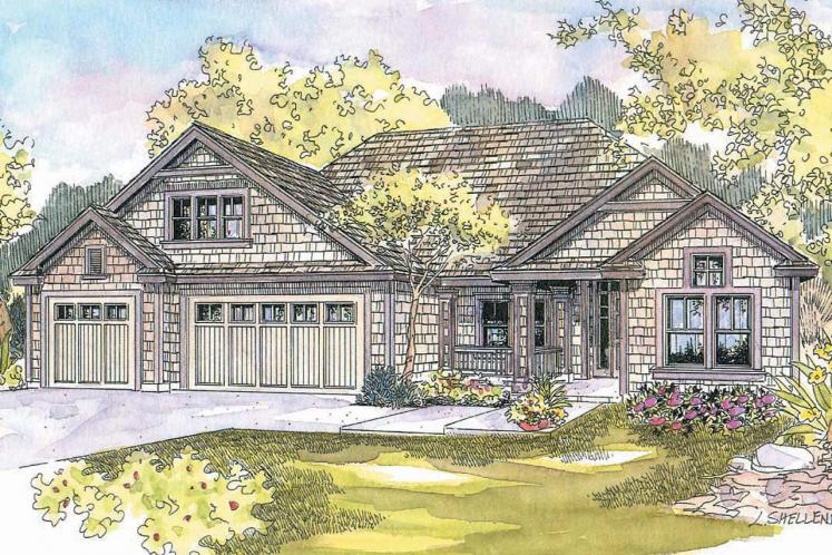 Ranch House Plan - Schuyler 30019 - Front Exterior