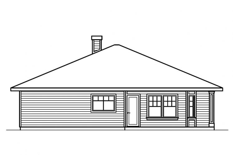 Traditional House Plan - Lincoln 30112 - Left Exterior