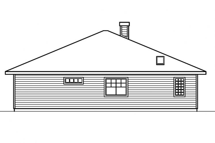 Cottage House Plan - Lincoln 30112 - Right Exterior