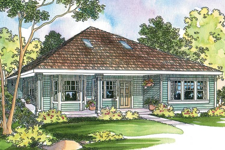 Cottage House Plan - Lincoln 30112 - Front Exterior