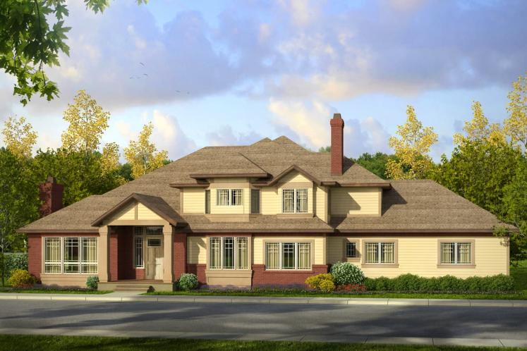 Traditional House Plan - Masonville 30137 - Front Exterior