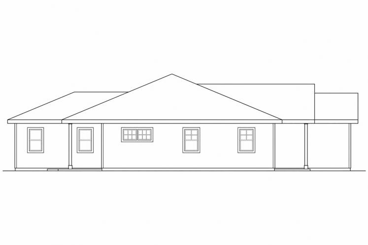 Country House Plan - Harlequin 30242 - Left Exterior