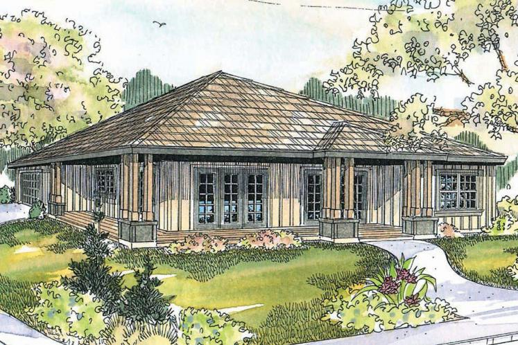 Craftsman House Plan - Tealwood 30243 - Front Exterior