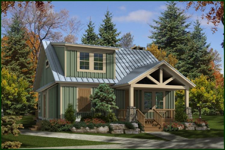 Cottage House Plan -  30276 - Front Exterior