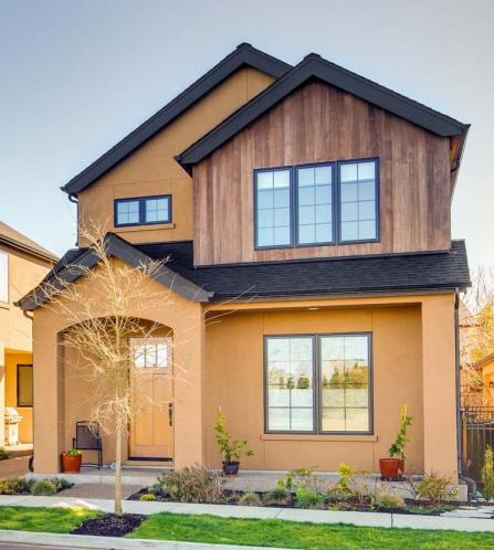 Contemporary House Plan - Montrose II 30317 - Front Exterior