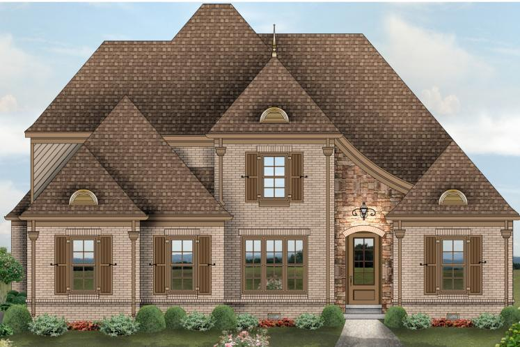 Classic House Plan -  30572 - Front Exterior