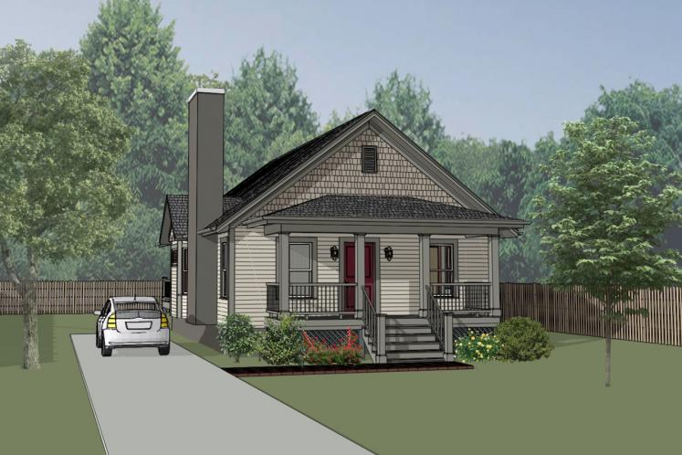 Cottage House Plan -  30610 - Front Exterior