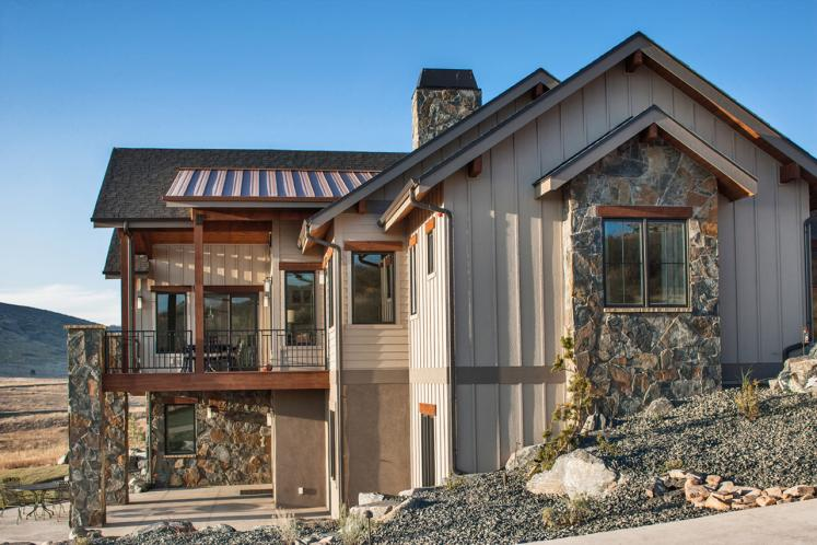 Ranch House Plan - Canyon Shadow 30620 - Left Exterior