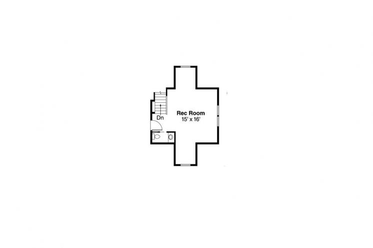 Traditional House Plan - River Glen 30765 - 2nd Floor Plan