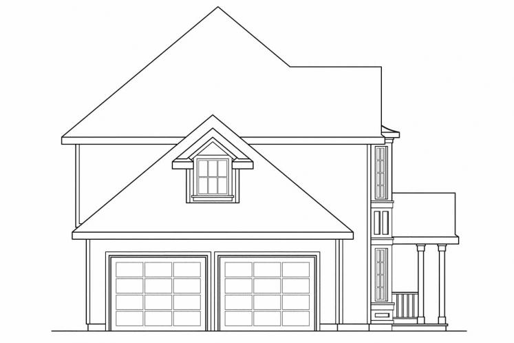 Country House Plan - Sedgewicke 30996 - Left Exterior