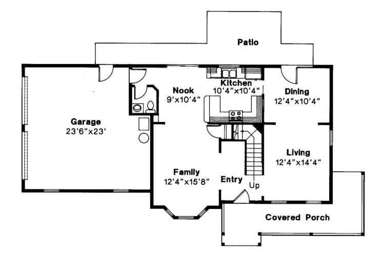 Country House Plan - Sedgewicke 30996 - 1st Floor Plan