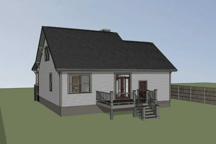 Country House Plan -  31050 - Right Exterior