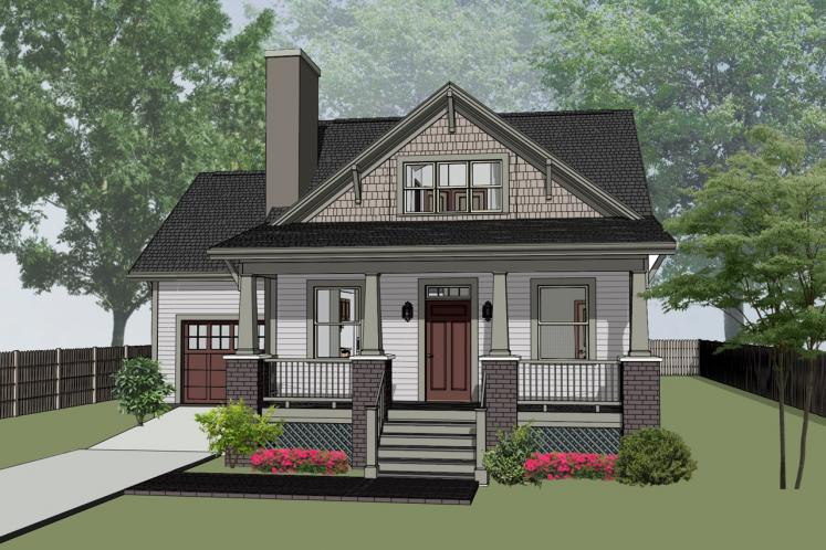 Cottage House Plan -  31050 - Front Exterior