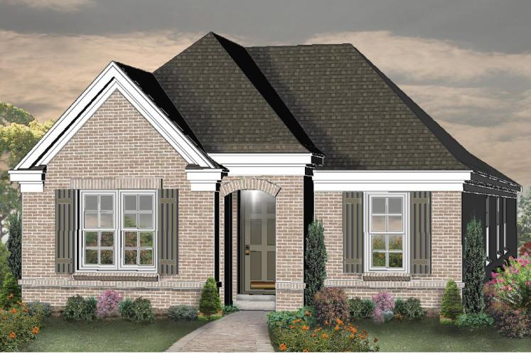 Country House Plan -  31189 - Front Exterior