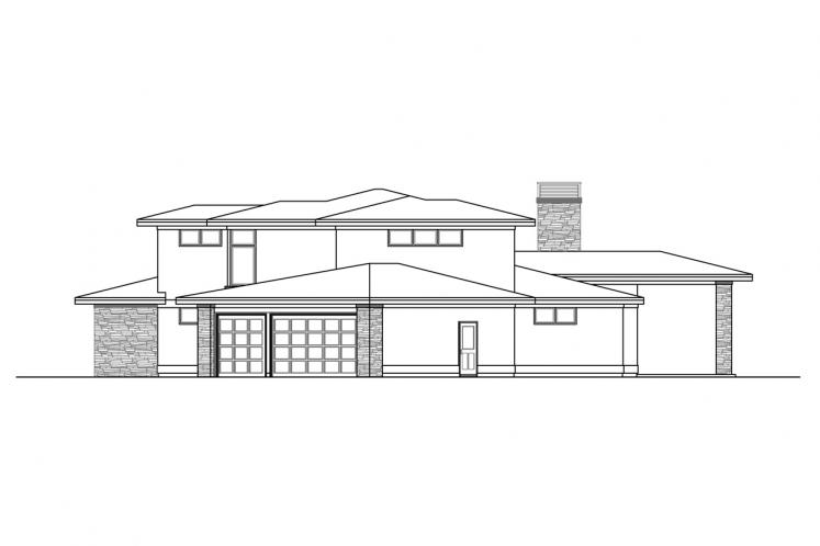 Prairie House Plan - Rogue 31228 - Right Exterior