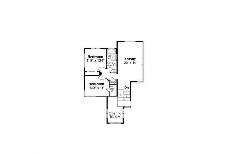 Contemporary House Plan - Rogue 31228 - 2nd Floor Plan